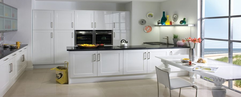 How To Clean High Gloss White Kitchen Cabinet