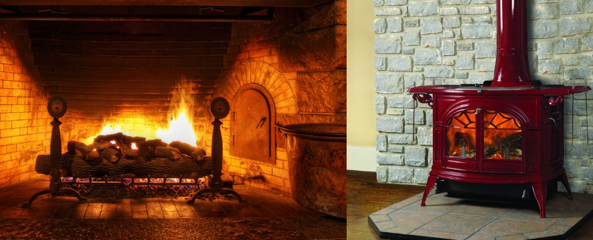 How to tell if your fire place is gas or wood