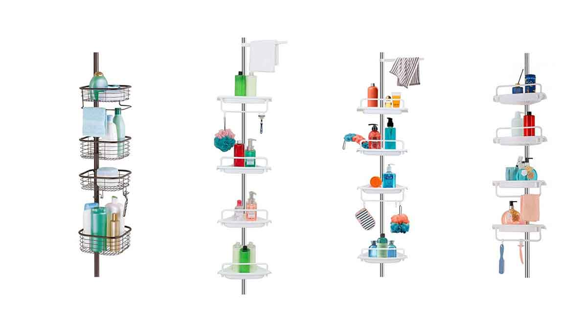 Best Tension Pole Shower Caddy in 2021