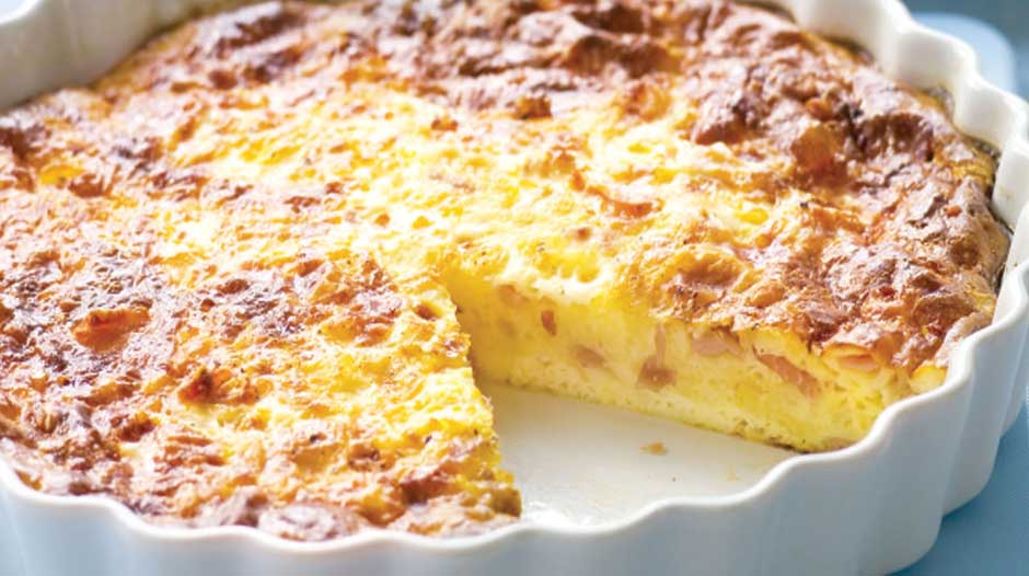 How do you reheat refrigerated quiche?
