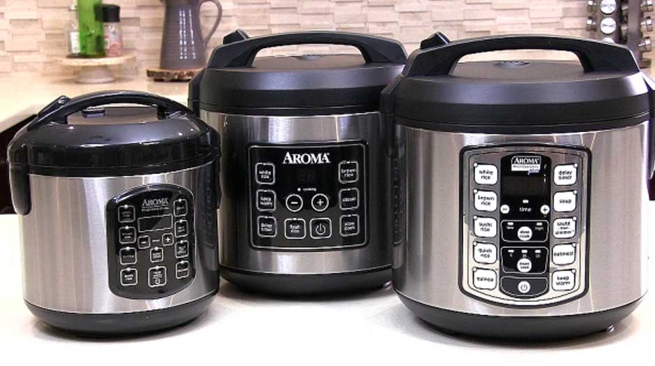 How to use an Aroma Rice Cooker and Steamer