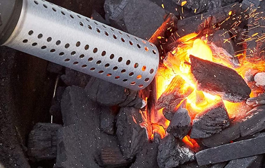 charcoal grill fire starter
