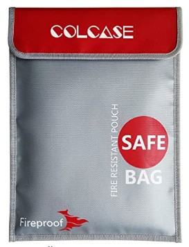 COLD CASE fireproof bag